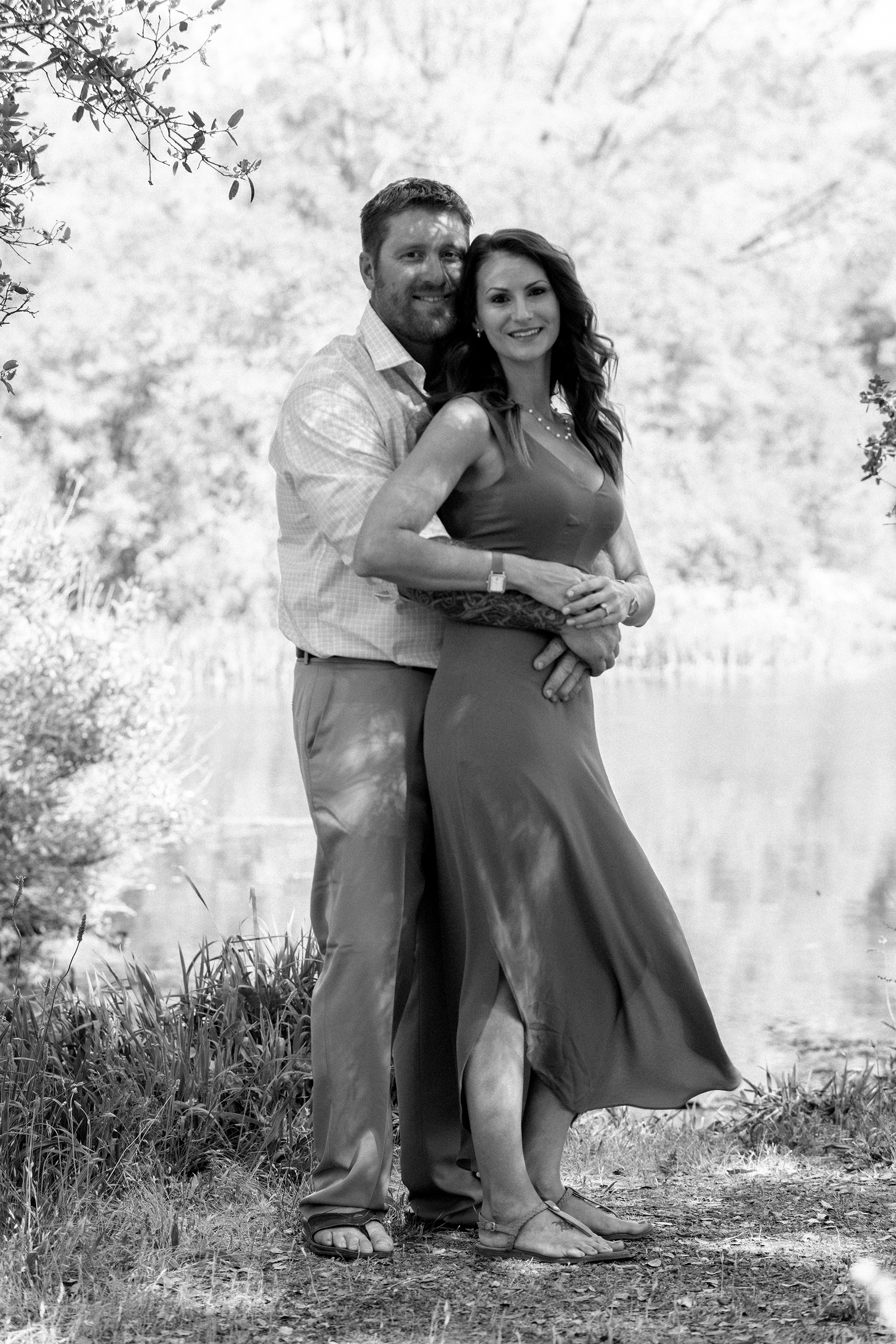 Rocklin quarry engagement session