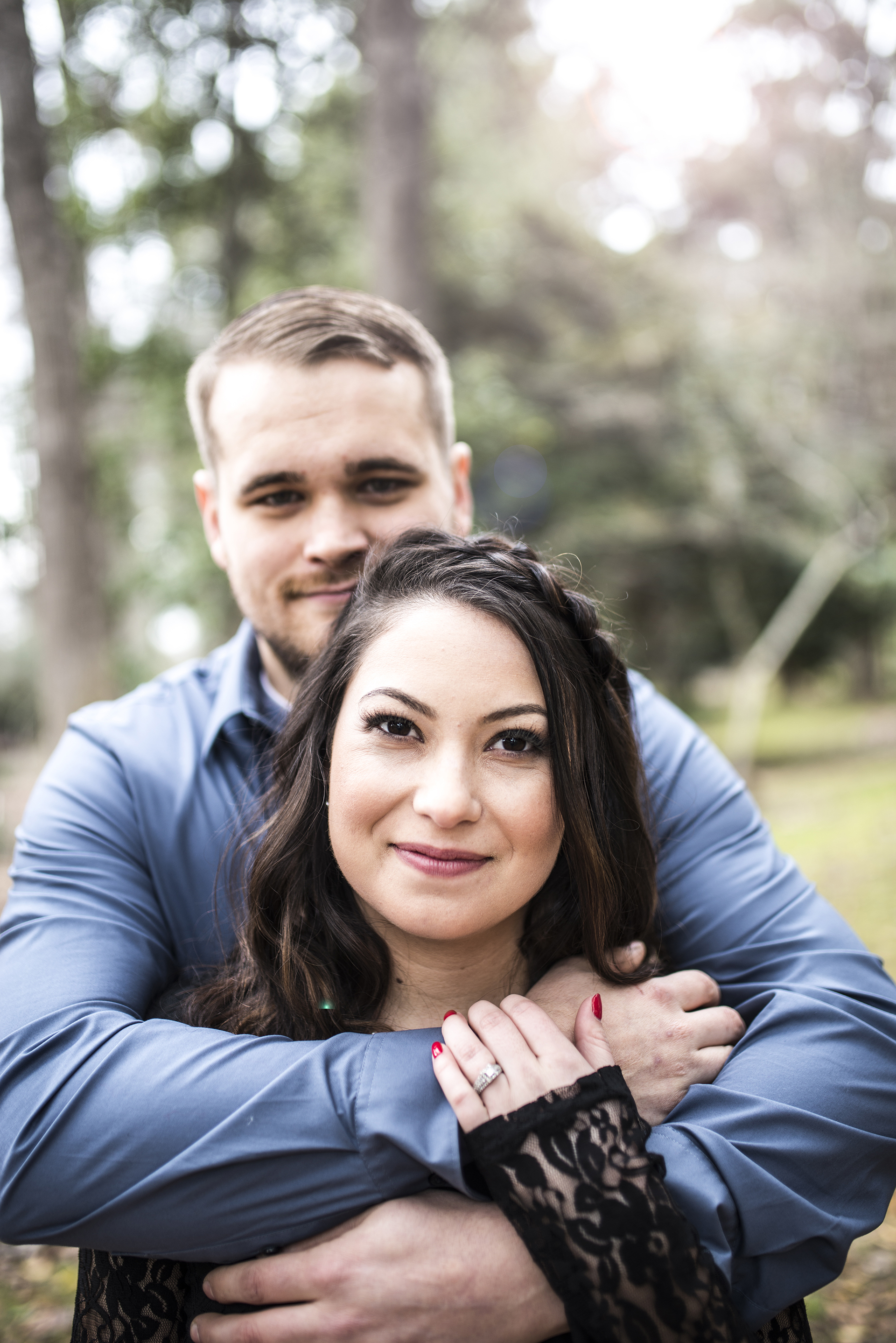 Old Sacramento engagement session